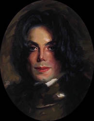 The Bust of Michael in Armor