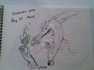 Alkara's Inktober. Day 31. Mask