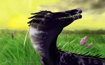 Strange dino by Alkaras-Adventures