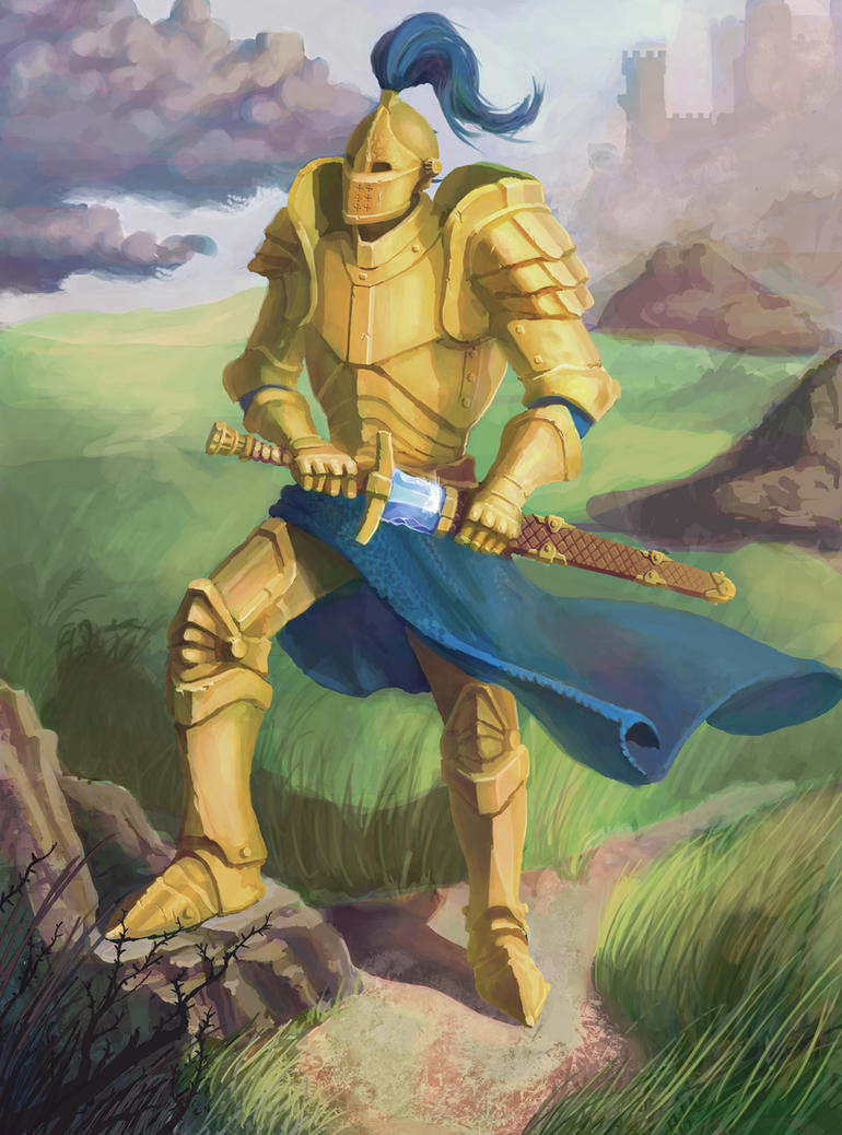 Golden Knight 492614801