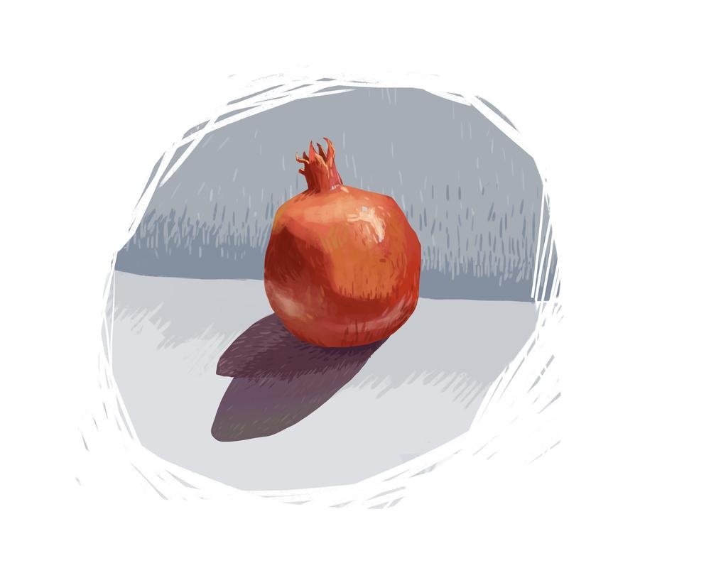 Pomegranate by LittleLittleMuy