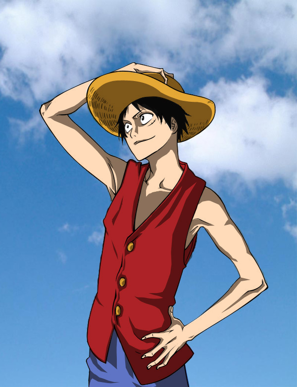 Luffy by tite kubo by Hisagi-Taicho