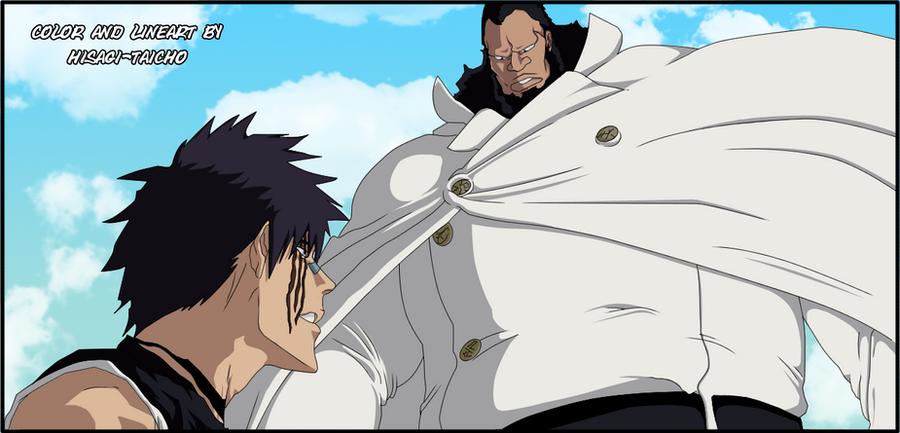 Hisagi vs Sternritter (quincy) by Hisagi-Taicho