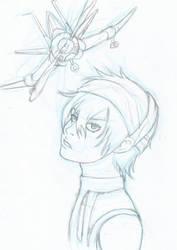 sketch narancia -jojo by Hisagi-Taicho