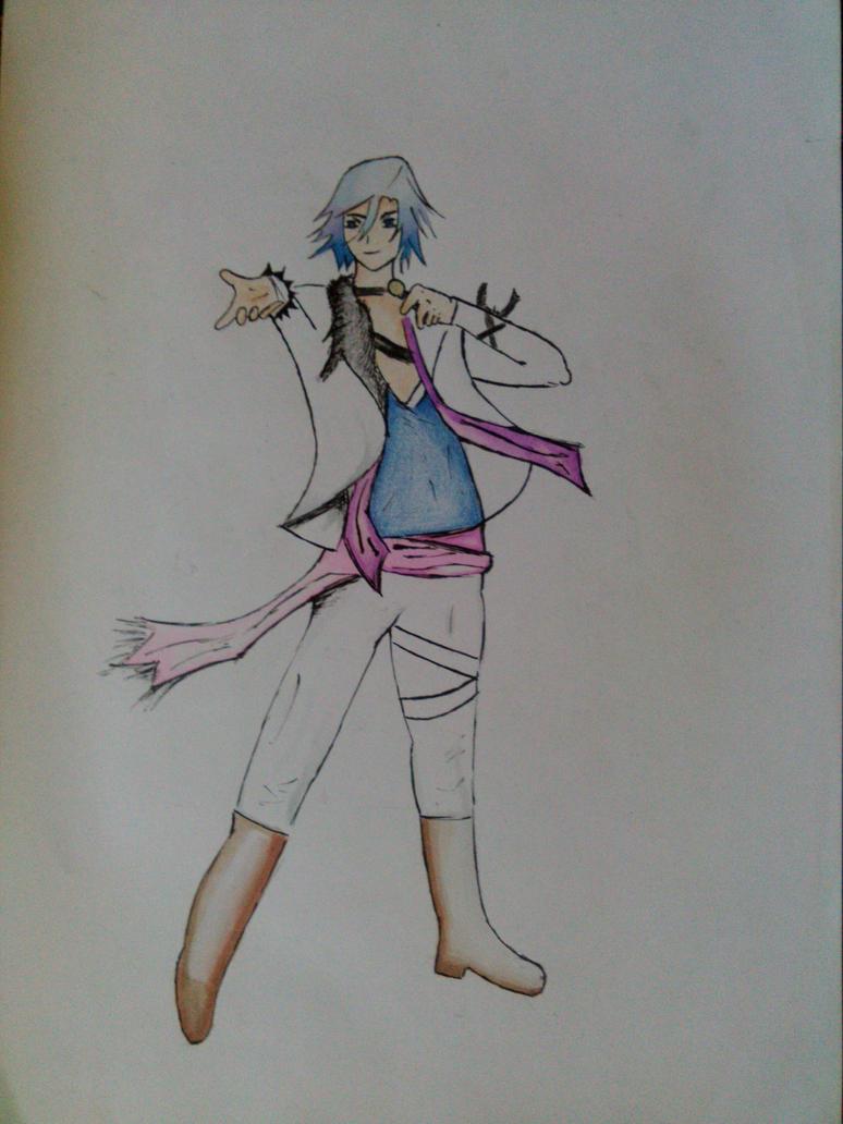 Tokiya Ichinose drawing - fanart by Radijs-Dalfo