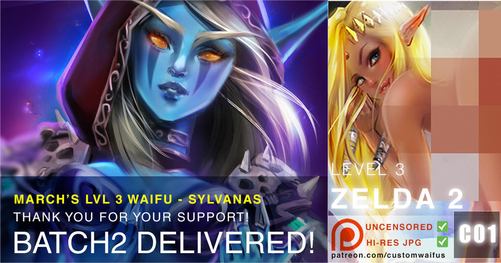 Deliver Sylvanas by customwaifus