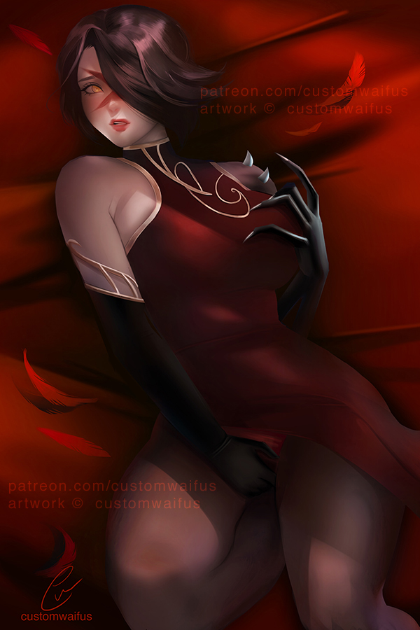 (+NSFW)[: Level 1 Cinder Fall (PATREON COMMISSION) by customwaifus