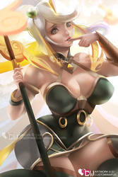 Lunar Lux (Commission) (League of Legends) by customwaifus