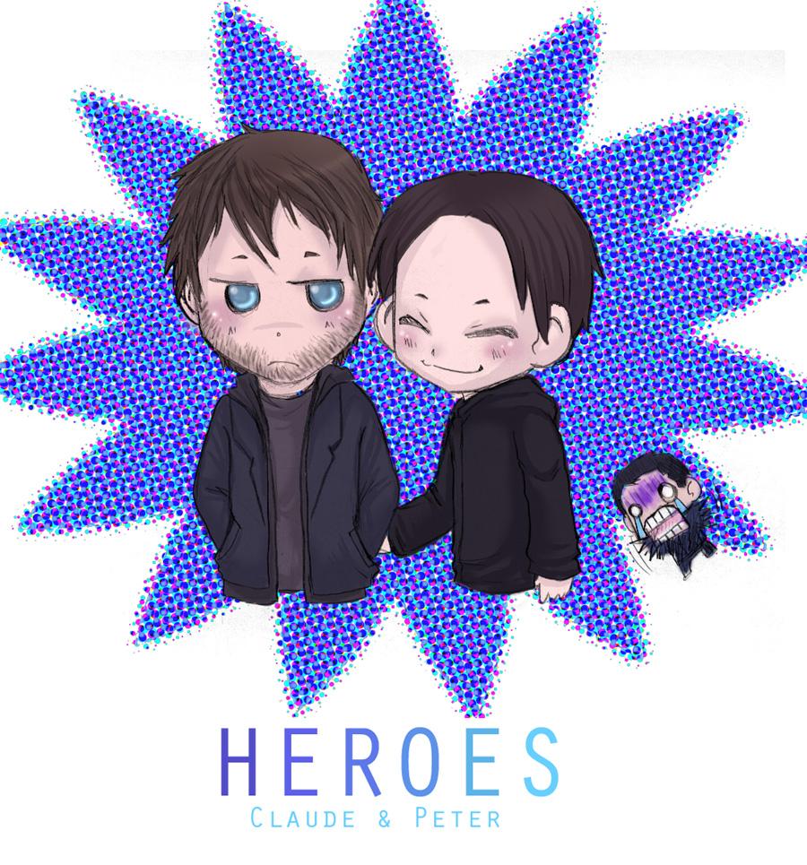 Heroes- Claude n Peter again by Heroes-Couples-Club