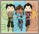 Team Korra by MahouSakuraTenshi