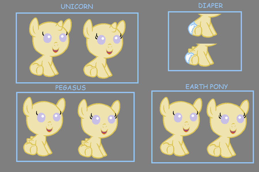 Baby ponies for everyone by BronyBase on DeviantArt