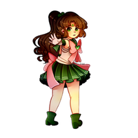 [FanArt] - Sailor moon _ Sailor Jupiter by BleuDoux
