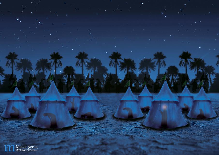 Night of worship by MaryamJassim