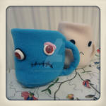 Zombie Cup Plush by judithchen