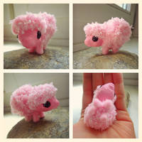 Fluffle Puff XS Art Doll by judithchen