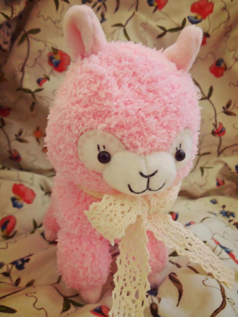 Curly Alpaca Plush by judithchen