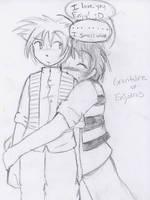 R loves Enjy, lol by BenjixShingo
