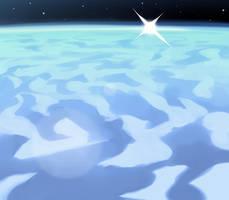 Oh hey, a blue desert. by longestdistance