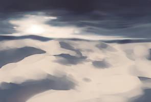 Why do I keep drawing deserts? by longestdistance