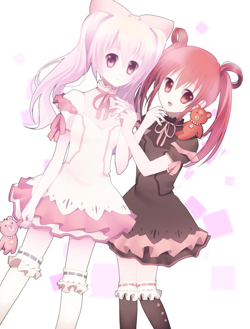 Ayame and Izumi by longestdistance