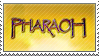 Pharaoh Stamp by longestdistance