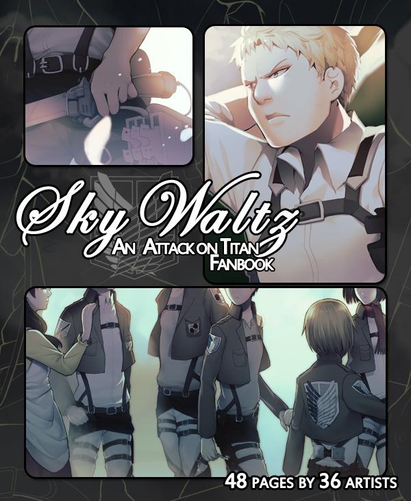 Sky Waltz - An Attack on Titan Fanbook [preview] by longestdistance