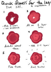 Tutorial: how to BS a flower for lazy people