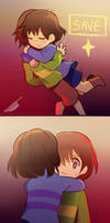 Charisk hug by longestdistance