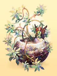 Succulent fairy. by longestdistance