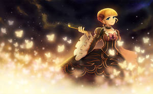 Beatrice the golden witch. by longestdistance