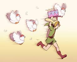 Run Link, RUN!!! by longestdistance