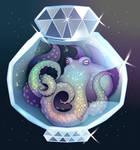 Opal octopus.