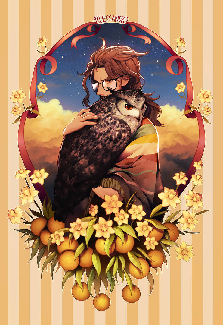 Allessandro, owl of dawn. by longestdistance