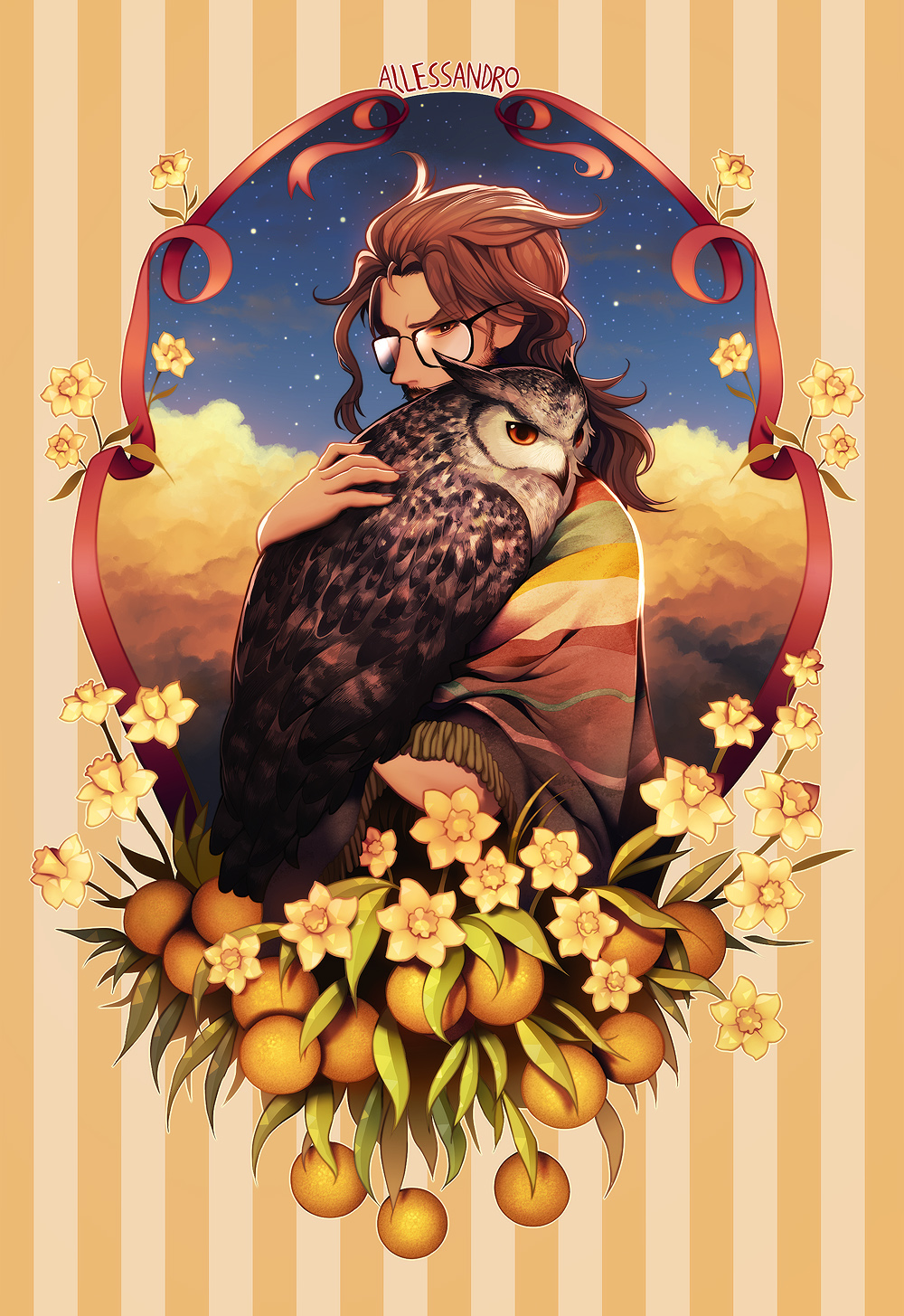 Allessandro, owl of dawn.