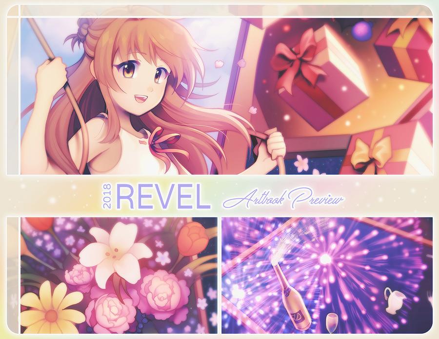 Revel Artbook Preview. by longestdistance