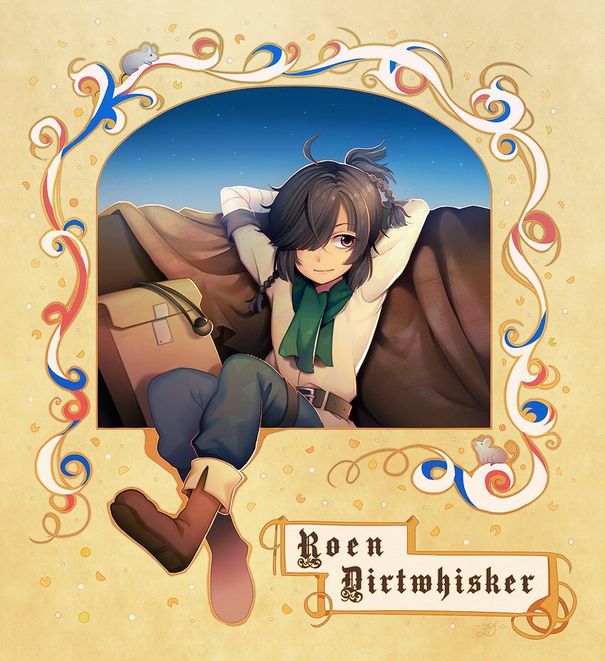 Roen Dirtwhisker. by longestdistance