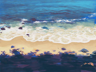 A day at the beach. by longestdistance