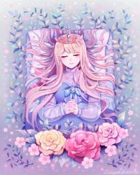 Sleeping Beauty. by longestdistance