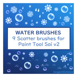 Water scatter brushes for SAI2