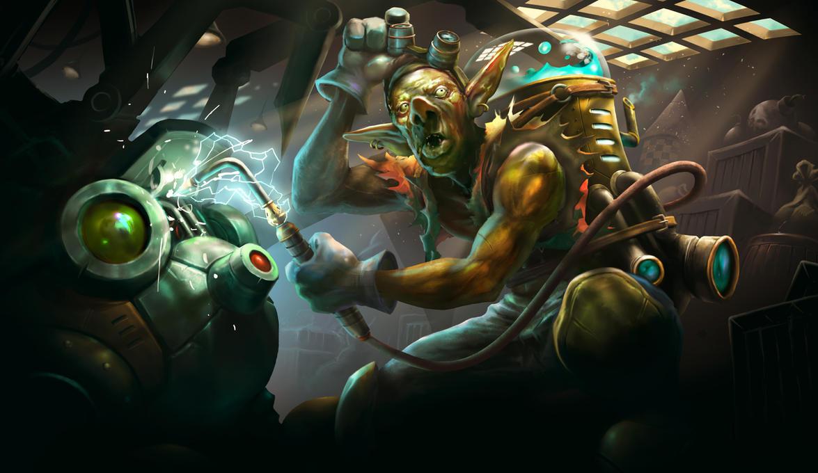 Goblin Gearsmith by ArchLimit