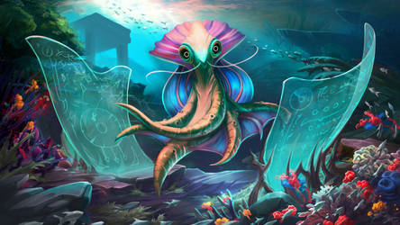 'Mukay' Sea Alien