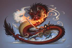 Mulan, the Dragonmaster