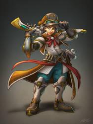 Emery, Bronzegear Cadet