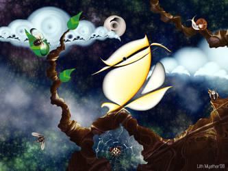 Good night by LithMyathar