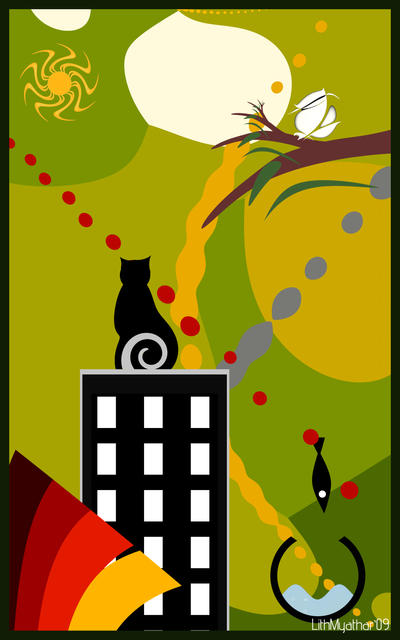 Meow ? by LithMyathar