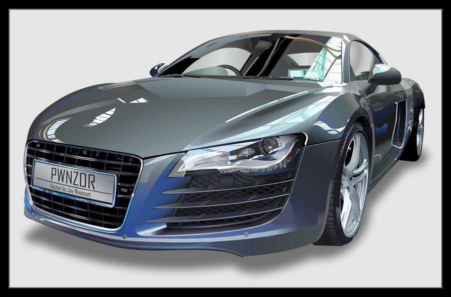 Audi R8 by JayWestcott