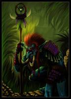 Jungle Troll by JayWestcott