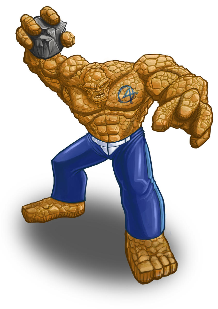 Fantastic Four The Thing by JayWestcott on DeviantArt