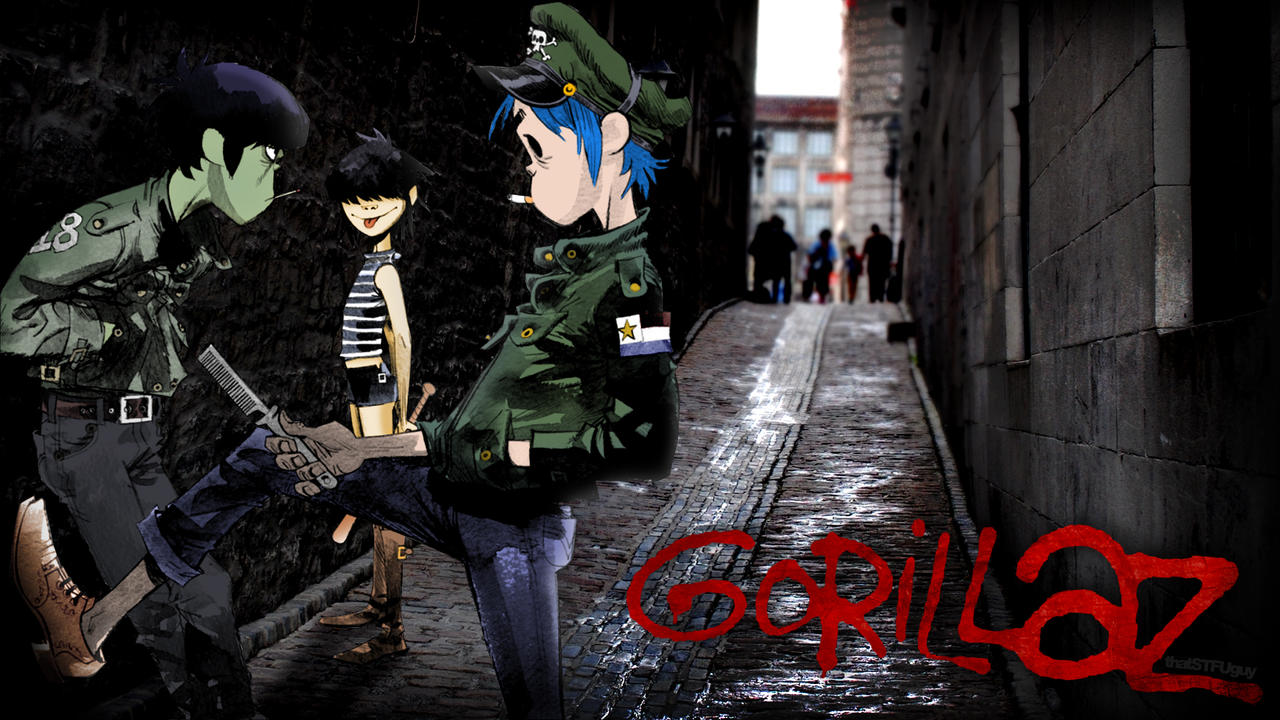 Gorillaz Wallpaper another Gorillaz wallp...