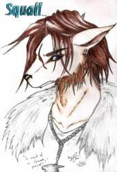 Squall aka Lone Wolf by devils-courtesan